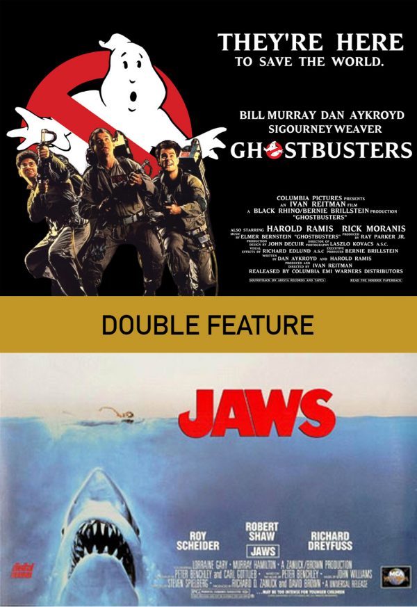 Ghostbusters/Jaws Double Feature